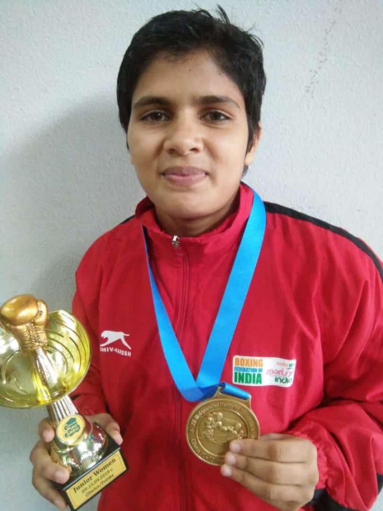 BHARTI (Haryana) 46kg GOLD