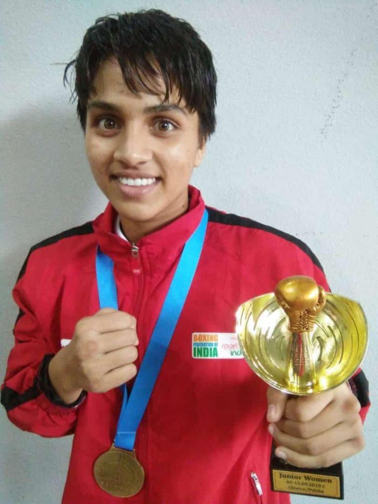 Sandeep Kaur (Punjab)52kg Gold