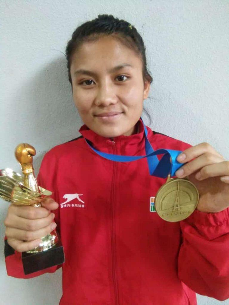 Tingmila Doungel (Manipur) 48Kg Gold