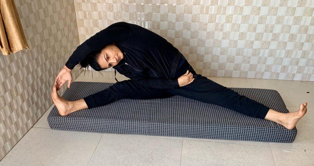 Pooja Rani training at home (3)