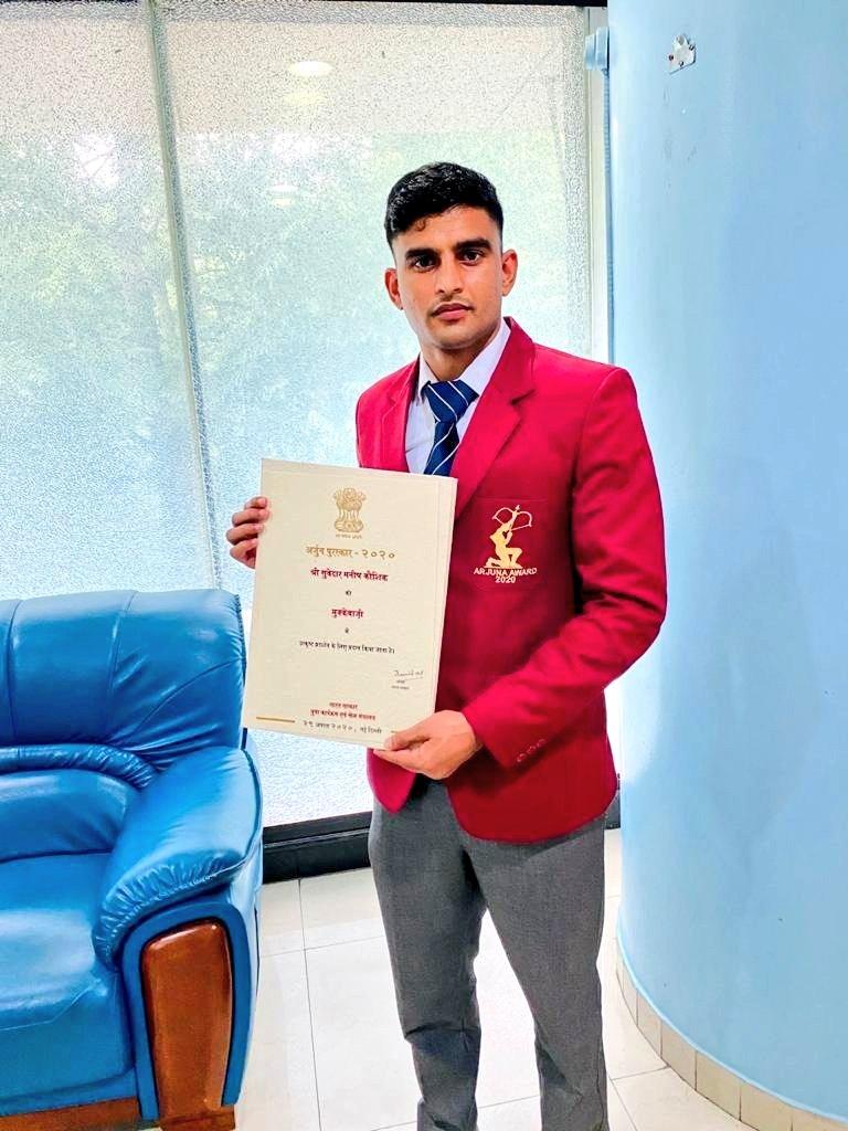 National Awards - Manish Kaushik